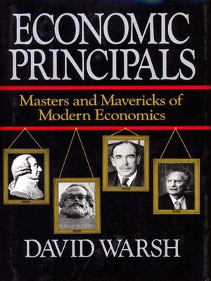 cover image of Economic Principles