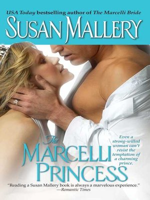 cover image of The Marcelli Princess