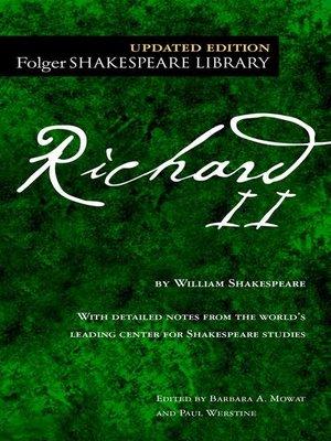 cover image of Richard II
