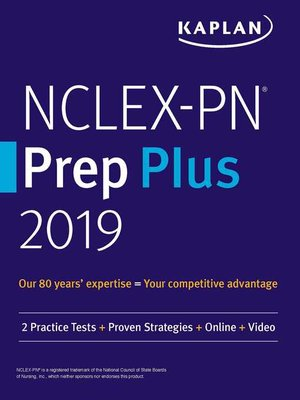 cover image of NCLEX-PN Prep Plus 2019