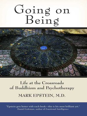 cover image of Going on Being