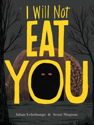 cover image of I Will Not Eat You