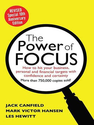 cover image of The Power of Focus Tenth Anniversary Edition