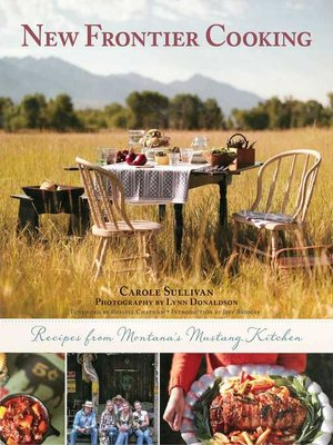 cover image of New Frontier Cooking