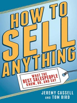 cover image of How to Sell Anything