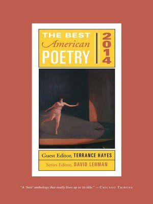 cover image of The Best American Poetry 2014