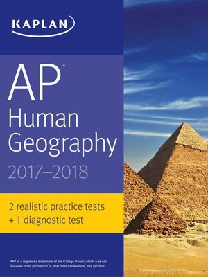 cover image of AP Human Geography 2017-2018