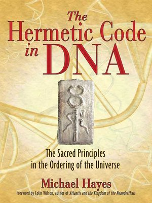 cover image of The Hermetic Code in DNA