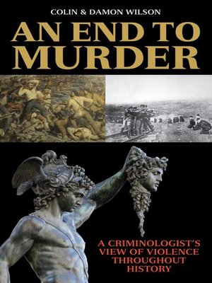 cover image of An End to Murder