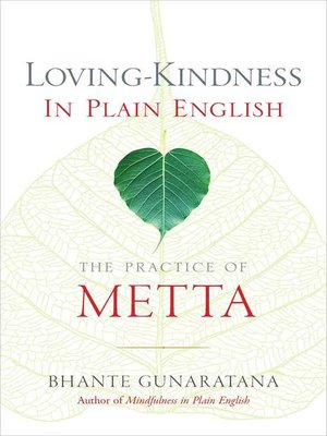 cover image of Loving-Kindness in Plain English