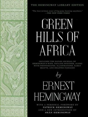 cover image of Green Hills of Africa