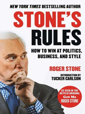cover image of Stone's Rules