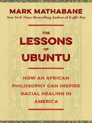 cover image of The Lessons of Ubuntu