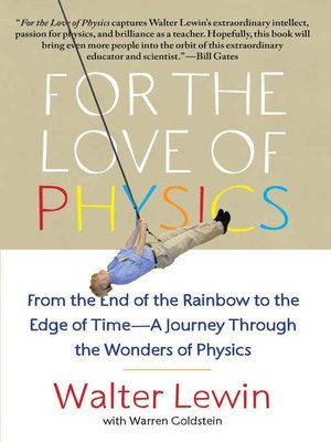 cover image of For the Love of Physics