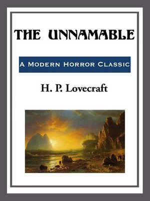 cover image of The Unnamable