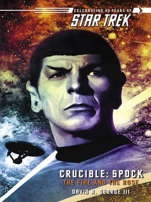 cover image of Crucible: Spock