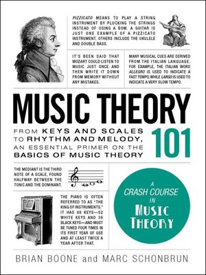 cover image of Music Theory 101
