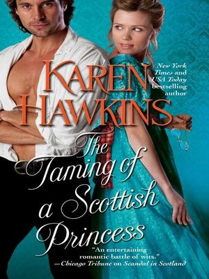 cover image of The Taming of a Scottish Princess