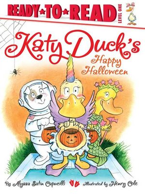 cover image of Katy Duck's Happy Halloween