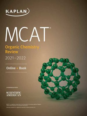 cover image of MCAT Organic Chemistry Review 2021-2022