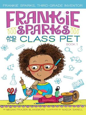 cover image of Frankie Sparks and the Class Pet