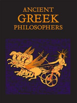 cover image of Ancient Greek Philosophers