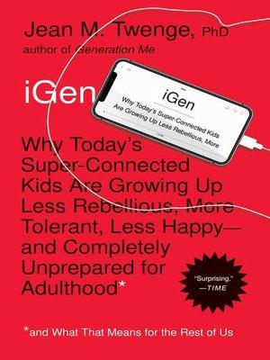 cover image of iGen