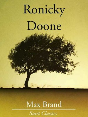 cover image of Ronicky Doone
