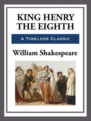 cover image of King Henry the Eighth