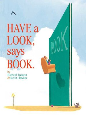 cover image of Have a Look, Says Book.