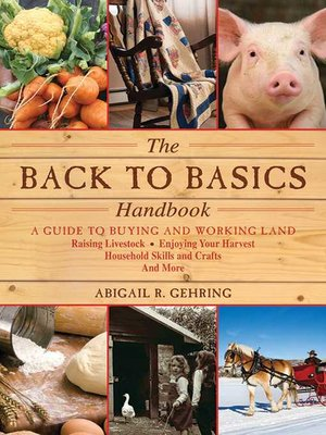 cover image of The Back to Basics Handbook