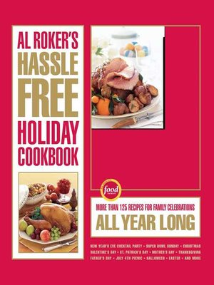 cover image of Al Roker's Hassle-Free Holiday Cookbook