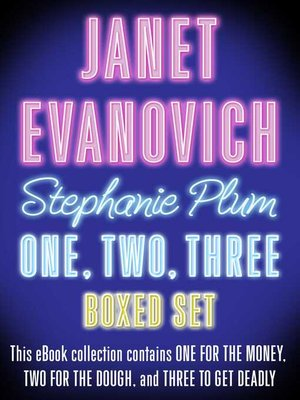 cover image of Three Complete Stephanie Plum Novels by Janet Evanovich