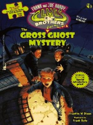 cover image of The Gross Ghost Mystery