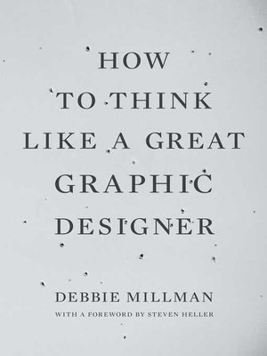 cover image of How to Think Like a Great Graphic Designer
