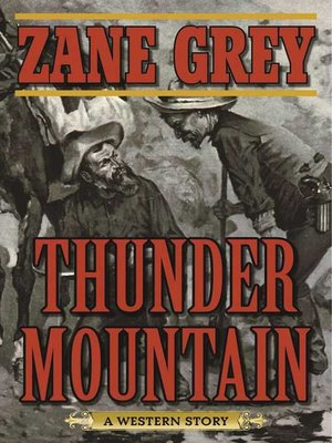 cover image of Thunder Mountain