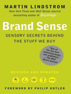 cover image of BRAND sense