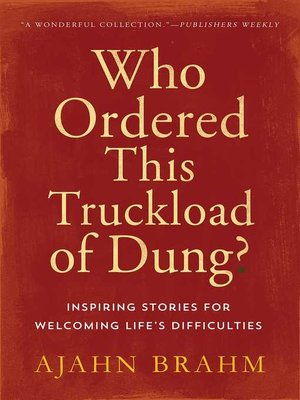 cover image of Who Ordered This Truckload of Dung?