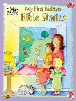 cover image of My First Bedtime Bible Stories
