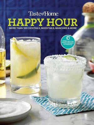 cover image of Taste of Home Happy Hour Mini Binder