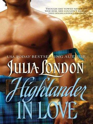 cover image of Highlander in Love