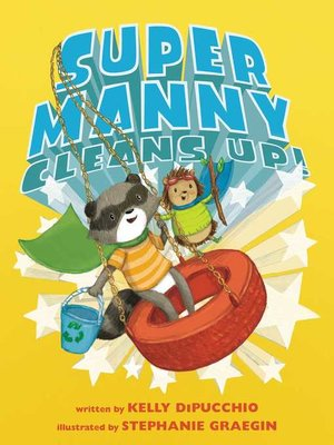 cover image of Super Manny Cleans Up!