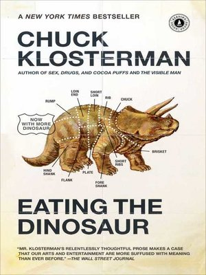cover image of Eating the Dinosaur