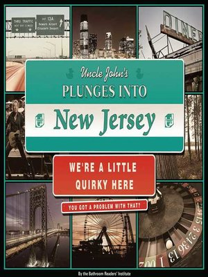 cover image of Uncle John's Plunges into New Jersey