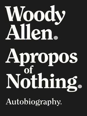 cover image of Apropos of Nothing