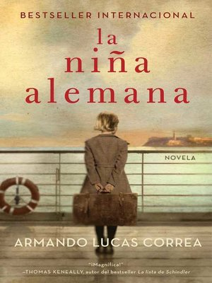 cover image of La niña alemana (The German Girl Spanish edition)
