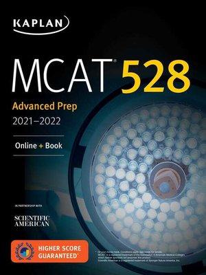 "cover image of MCAT 528 Advanced Prep 2021â€""2022"