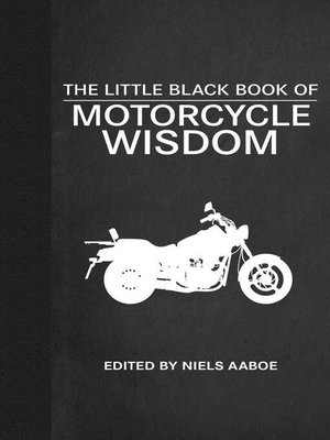 cover image of The Little Black Book of Motorcycle Wisdom
