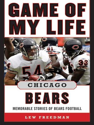 cover image of Game of My Life Chicago Bears