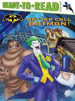 cover image of Better Call Batman!